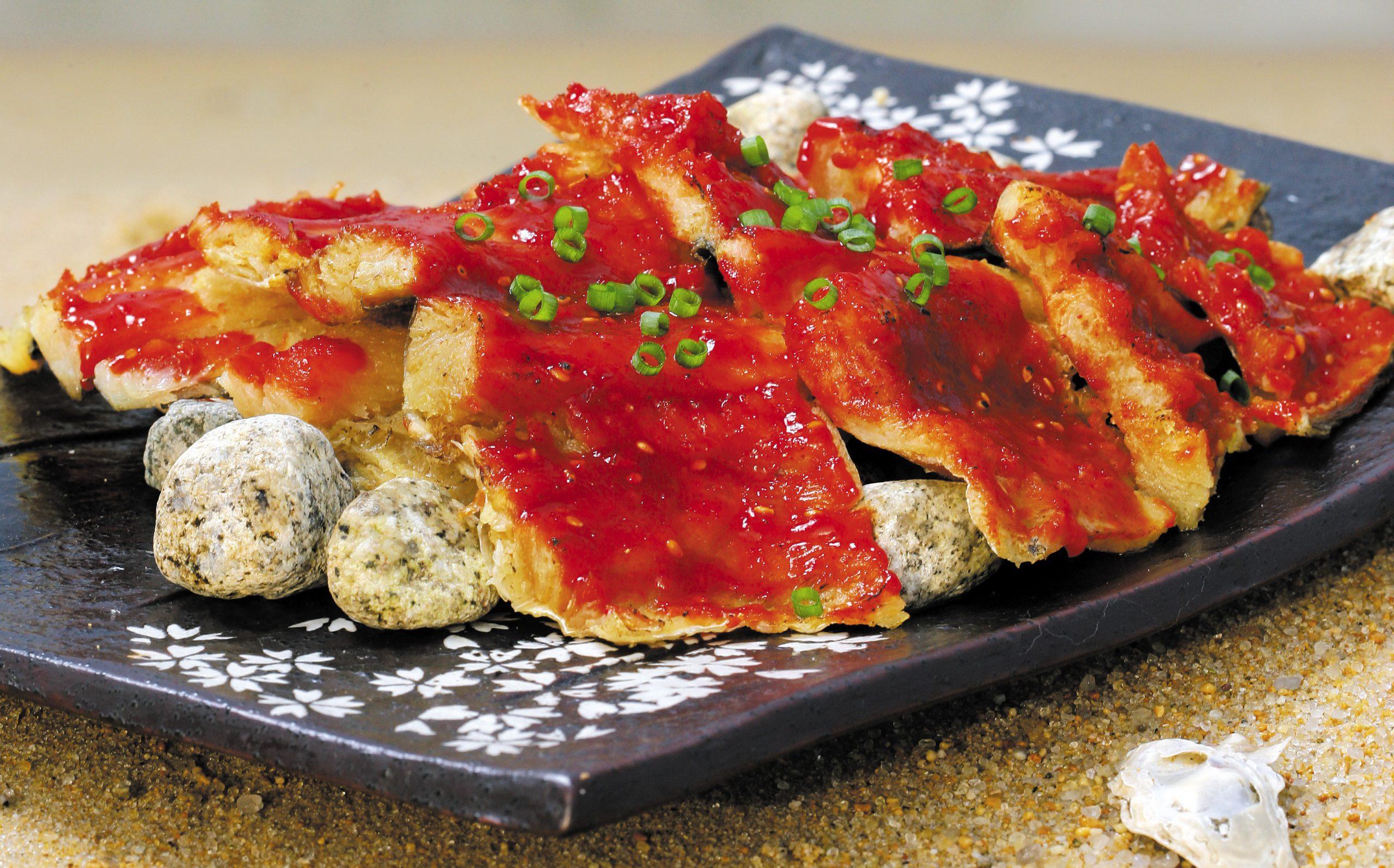ファンテ(干しスケトウダラ)料理