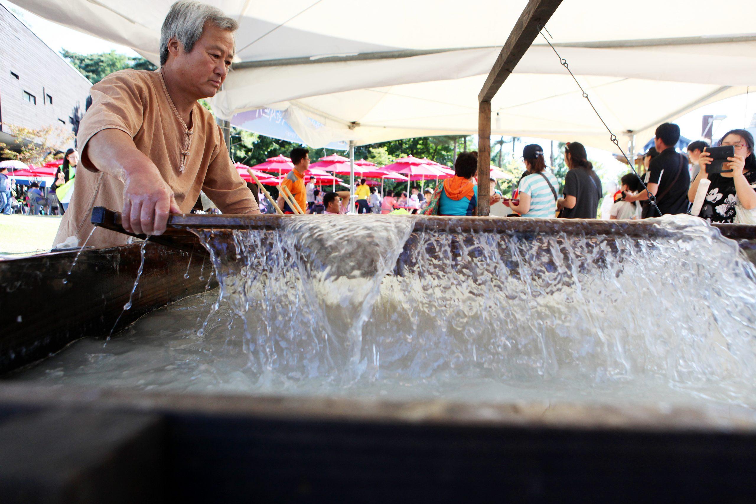 韓紙文化祭り