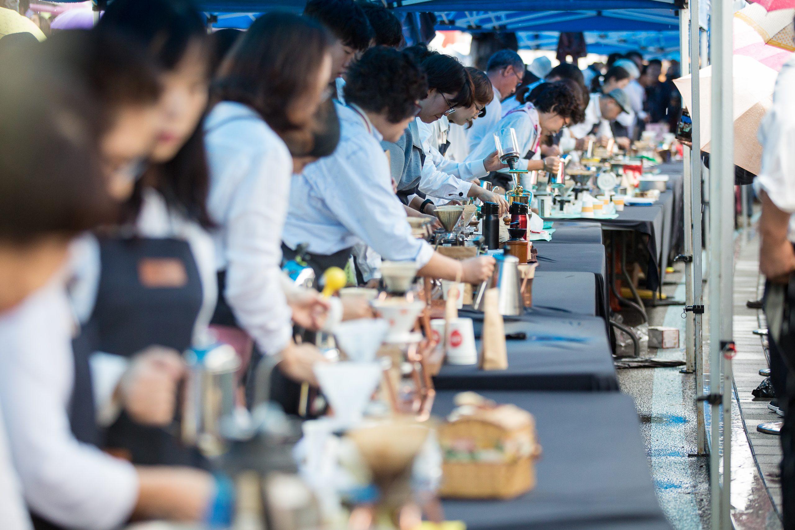 江陵 コーヒー祭り