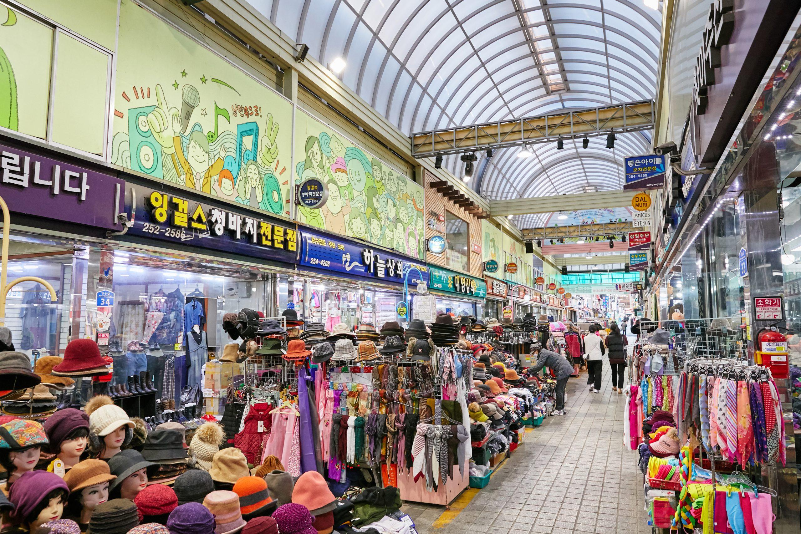 春川ロマン市場(中央市場)